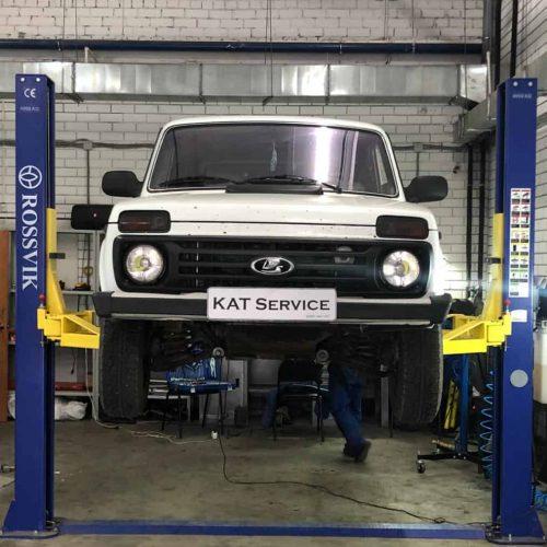 Удаление катализатора Lada 4x4 Niva