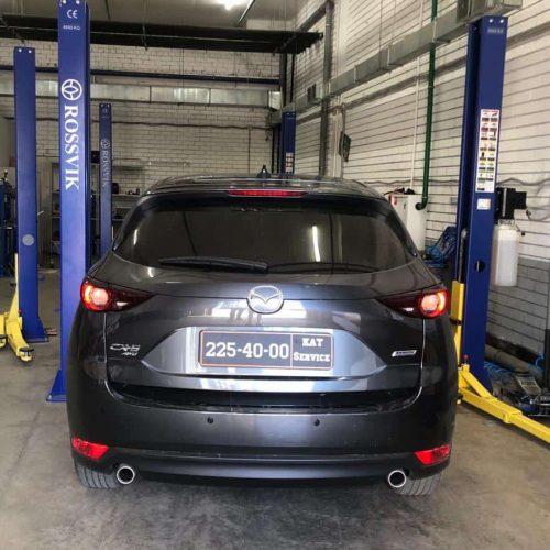 Удаление катализатора Mazda CX-5